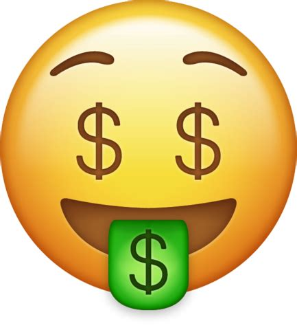 emoji wallpaper png money emoji png transparent background