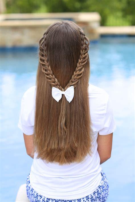 easy hairstyles for school braids half loop braidback back to school hairstyles hairstyles