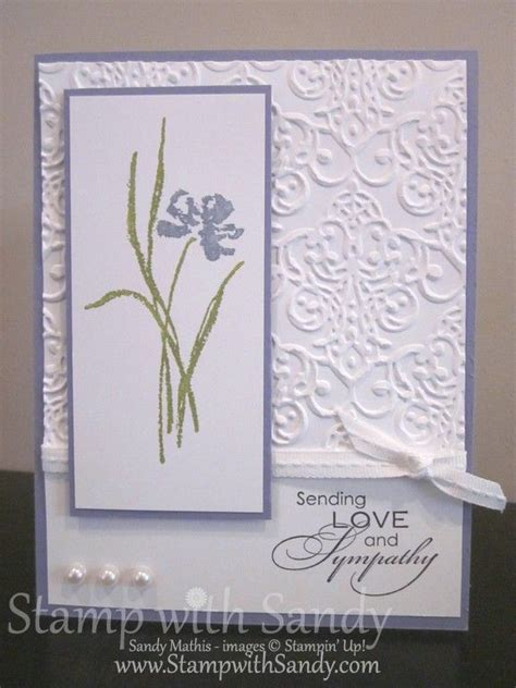 Handmade Sympathy Cards - the 25 best ideas about sympathy cards on