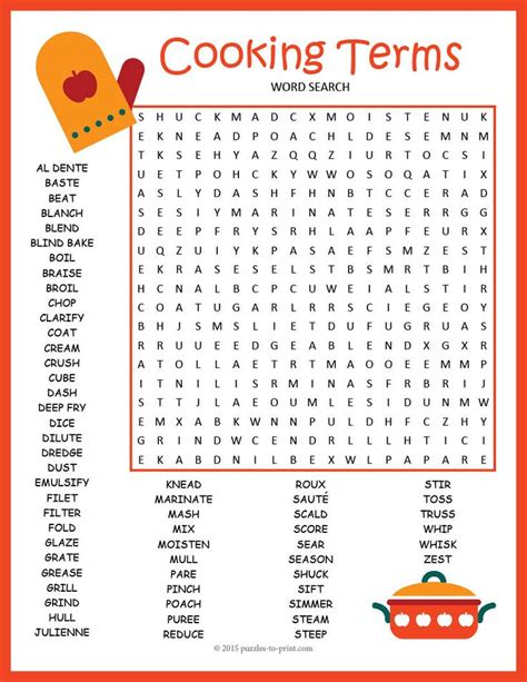 printable word search cooking 51 best images about word search ice cream on pinterest
