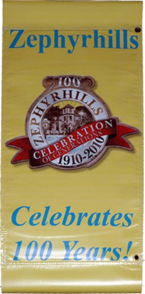 Office Supplies Zephyrhills Fl Official Zephyrhills 100th Anniversary Logo Unveiled