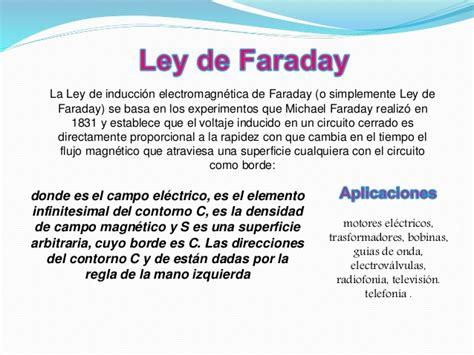 la ley de la 8479536616 ley de faraday y ley de ere