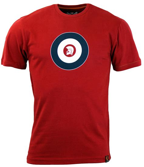 Tshirt Trojan Exclusive trojan records target retro mod ska logo t shirt in blood