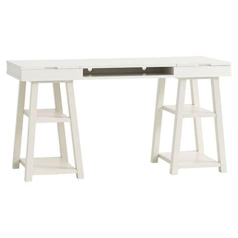 Trestle Desk by Customize It Project Trestle Desk Pbteen