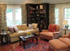 Asymmetrical Bookcase English Cottage With French Country Furnishings