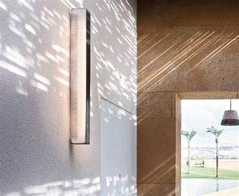 Outdoor Light Cover Outdoor Wall Light Cover City Flush Outdoor Wall Light Slotted Stainless Steel Wall Light