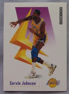 1991 skybox magic johnson los angeles lakers 137 basketball card