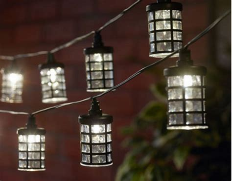 Led Outdoor Patio String Lights New String Light Led Solar Lights Outdoor Garden L Patio Yard Lanterns Ebay