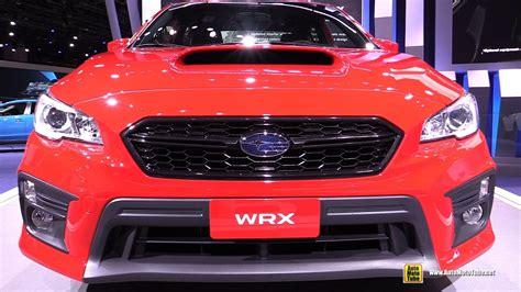 subaru wrx interior 2018 2018 subaru wrx exterior and interior walkaround debut