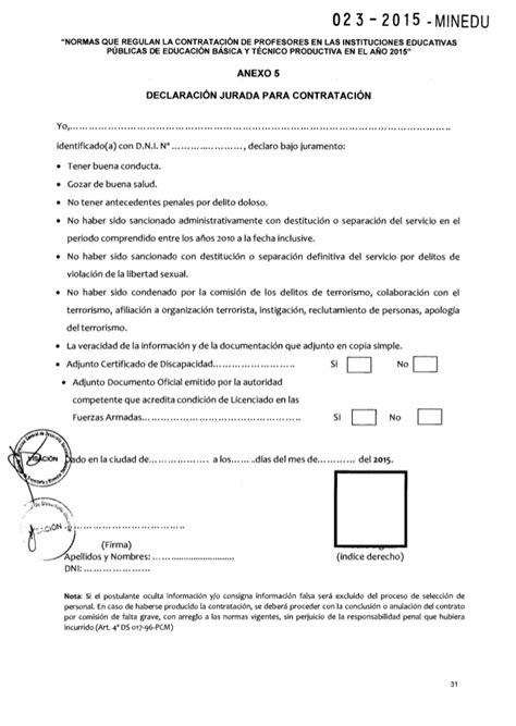 contrato colectivo de educacion 2016 rm n 176 023 2015 minedu normas que regulan la contrataci 243 n