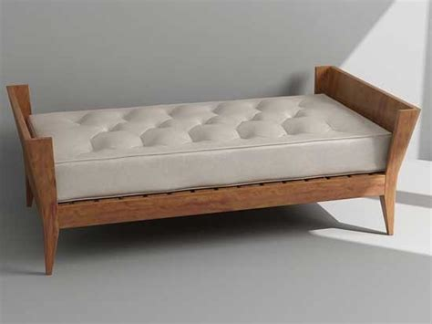 day bed bench 3d model bench daybed