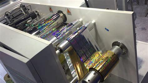 Mesin Printer Sticker Vinyl automatic 3d holographic label printer hologram sticker