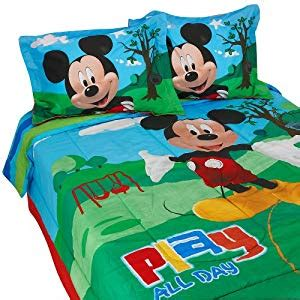 mickey mouse clubhouse bedroom set amazon com disney mickey mouse clubhouse full size