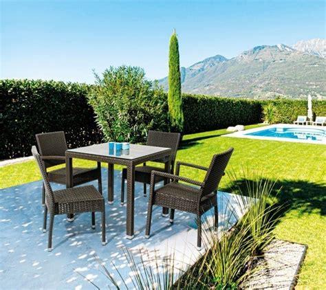 tavolo giardino rattan tavolo da giardino in polyrattan etnico outlet mobili etnici
