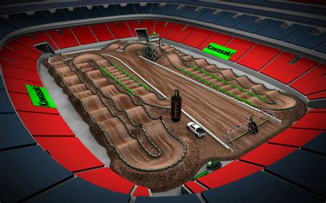 motocross race track design supercross track layout www imgkid com the image kid