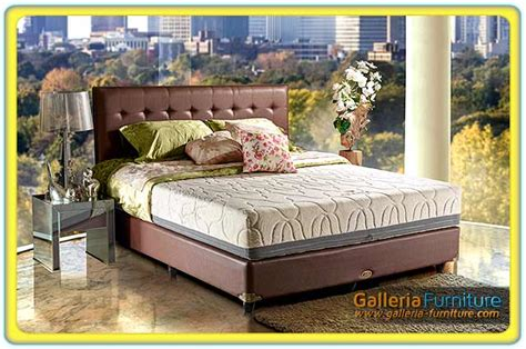 Matras Bed Kangaroo springbed elite harga matras murah toko furniture di
