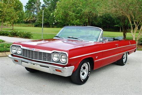 impala convertible 1964 chevrolet impala convertible for sale