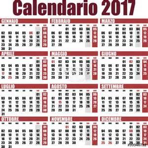 Calendario 2018 Vettoriale Gratis Quot Calendario 2017 Rosso Quot Immagini E Vettoriali Royalty