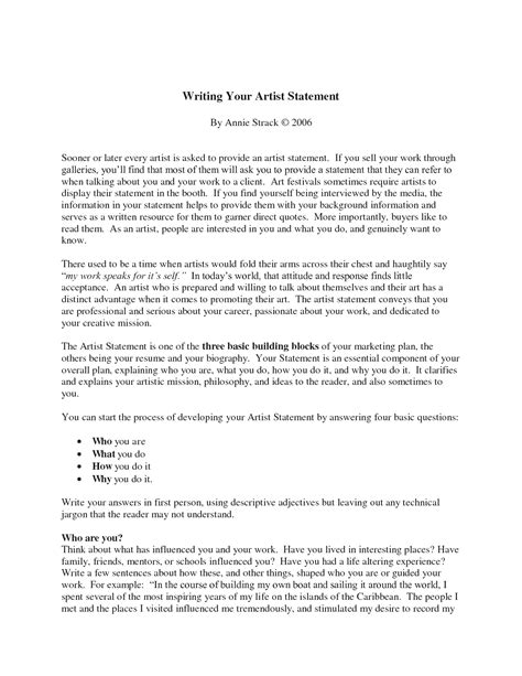 narrative essay format format
