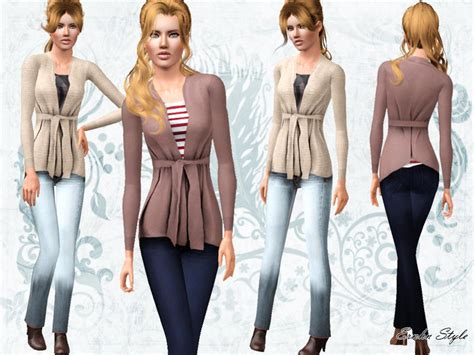 sims 3 outfits ernhn s fall cashmere combination outfit