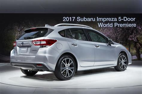 2016 subaru impreza hatchback 2016 subaru impreza hatchback unveiled at york motor