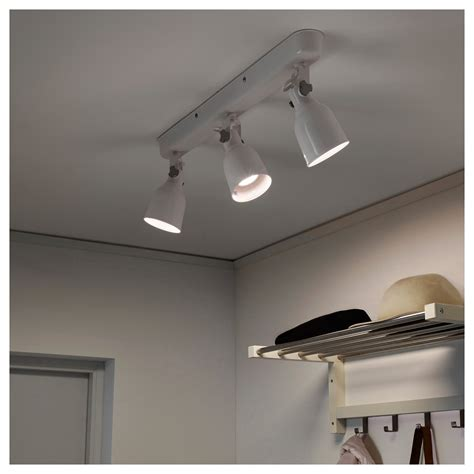 Ceiling Track by Hektar Ceiling Track 3 Spots White