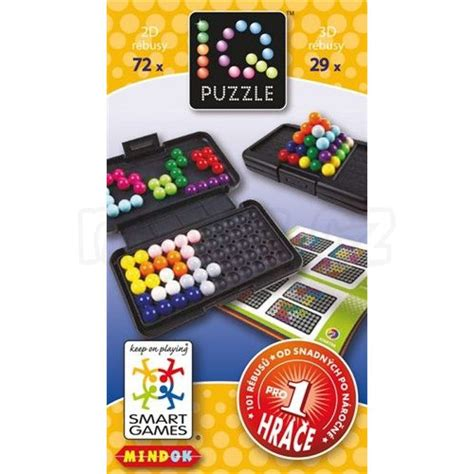 Smart Games Iq Puzzle Max 237 Kovy Hračky Smart Puzzle