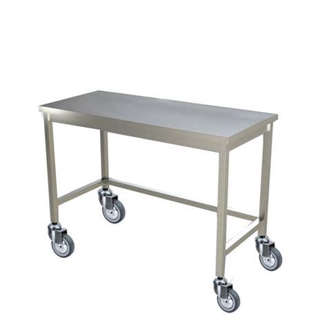 tavoli da professionali tavolo inox professionale con ruote