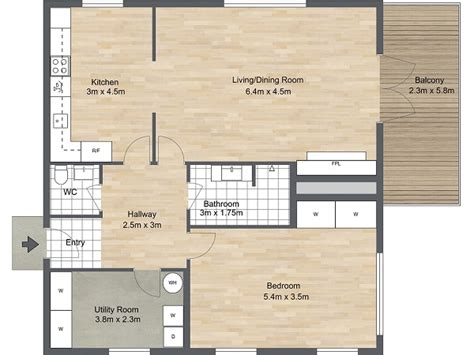 floor plan of bedroom floor plans roomsketcher