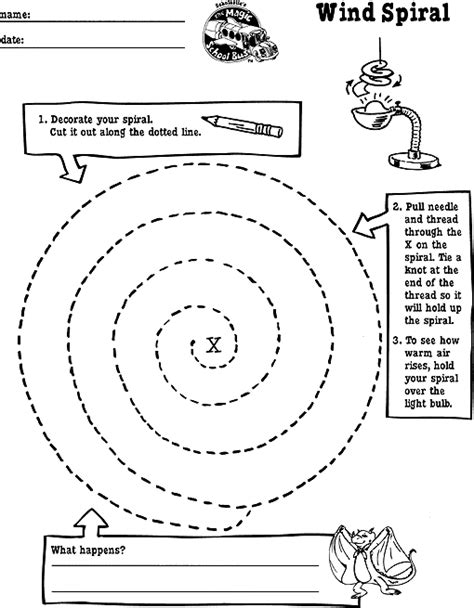 pattern cutting teaching jobs wind spiral printable education pinterest school