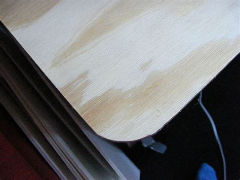 woodworking rounded corners my awesomely ironing board an ikea hack how to