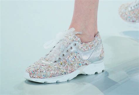 couture shoes chanel couture sneakers 2014 the snobette