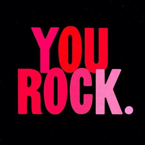 a bad day always remember you rock syc