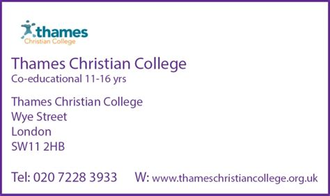 thames christian college ofsted interschools advertiser our schools participating