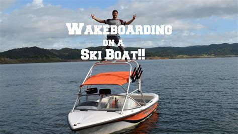 ski boat youtube wakeboarding on a ski boat what is possible youtube