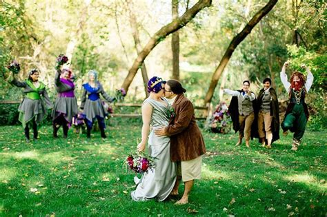 the arkenstone of weddings a barefoot hobbit themed wedding offbeat