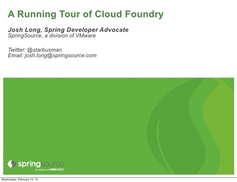 cloud foundry for developers deploy manage and orchestrate cloud applications with ease books a running tour of cloud foundry
