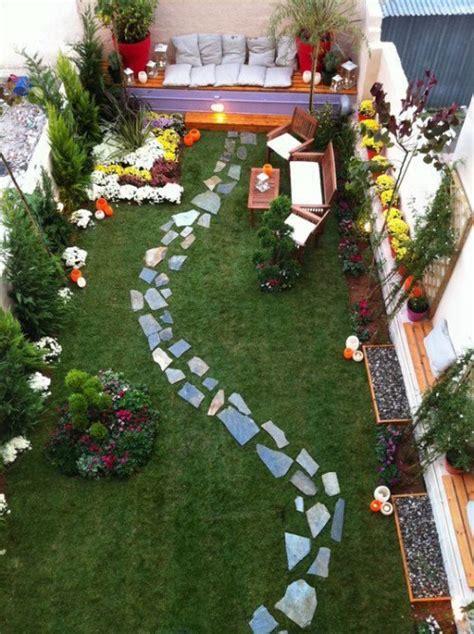 narrow garden ideas narrow garden 20 smart design and d 233 cor ideas gardenoholic