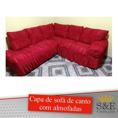 capa para sofa de canto fotos capa de para sof 225 de canto almofadas sob medida r