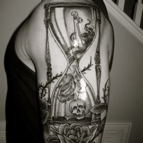 complex tattoo designs complex hourglass 2 hourglass arm on