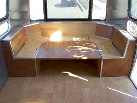 rv table bed 80 best and low budget rv hacks makeover remodel table