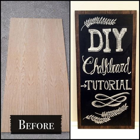 chalkboard paint tutorial diy chalkboard tutorial do a few coats of