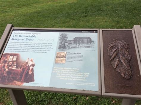 Historical Firsts Margaret Brent by History Of Margaret Brent Picture Of Mount Vernon Trail
