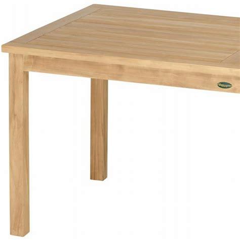 teak tisch massiv unbehandelt 120x80 esstisch - Teak Tisch