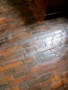 wood floor looks like bricks decorating pinterest