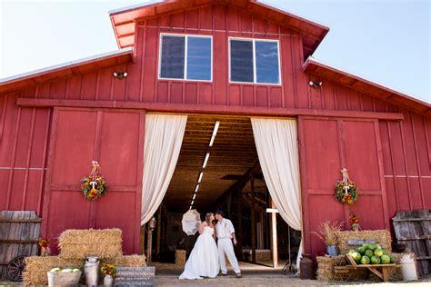 upscale barn wedding