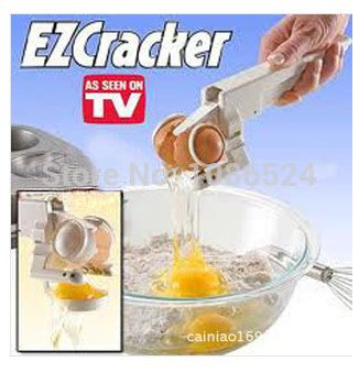Ezcracker Handheld Egg Cracker Separator Pemecah Telur popular ez cracker buy cheap ez cracker lots from china ez cracker suppliers on aliexpress
