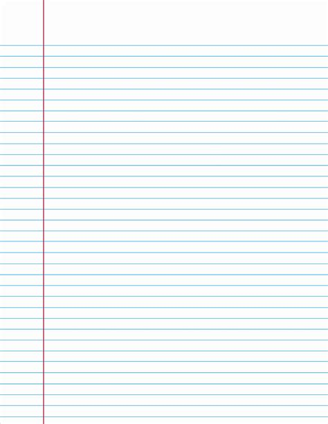 College Ruled Lined Paper Template Beautiful College Ruled Paper Lined Paper Powerpoint Template