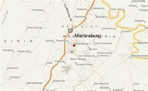 map of martinsburg wv martinsburg location guide