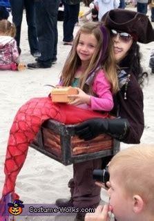 mermaid captured   pirate halloween costume  girls